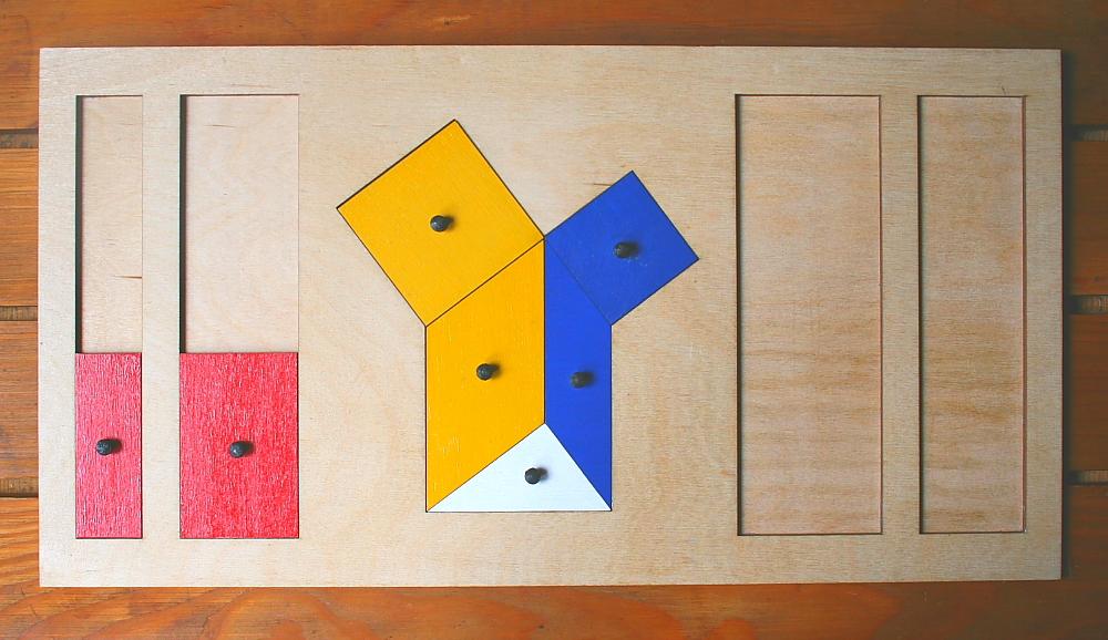 teorema Pitagora Montessori 6