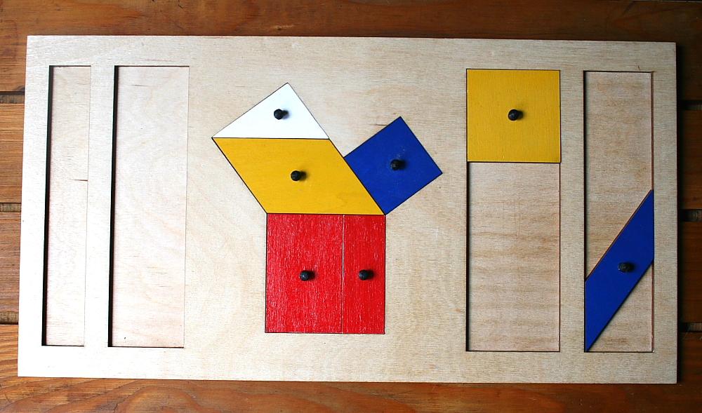 teorema Pitagora Montessori 8