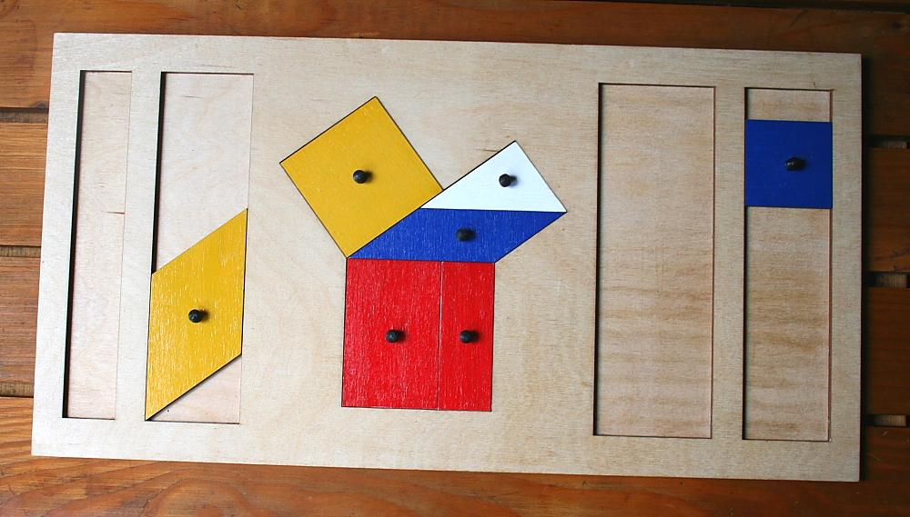 teorema Pitagora Montessori 9