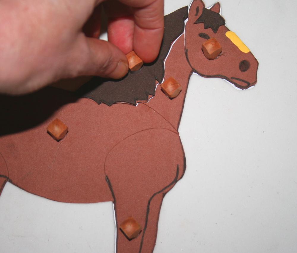 Incastro del cavallo Montessori