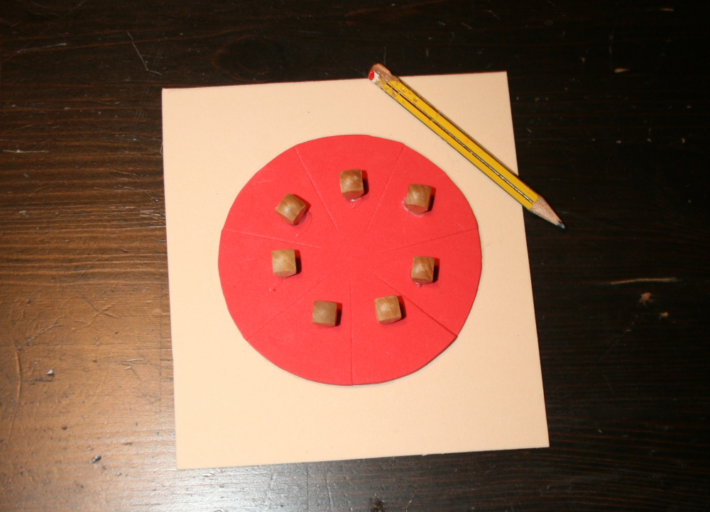 Tutorial per costruire gli incastri delle frazioni Montessori