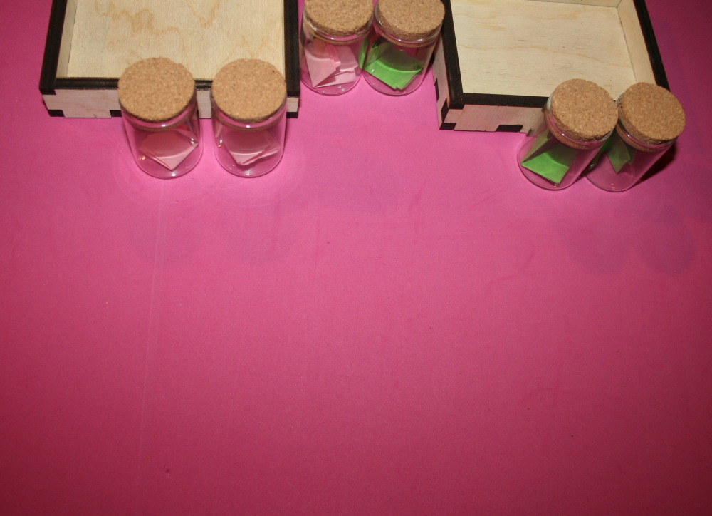 Boccette degli odori Montessori