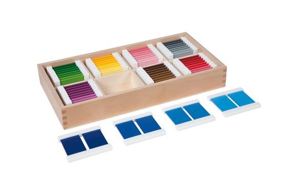 Spolette dei colori Montessori QUARTA SERIE