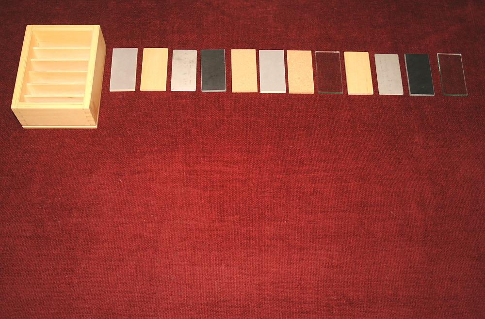 Tavolette termiche Montessori