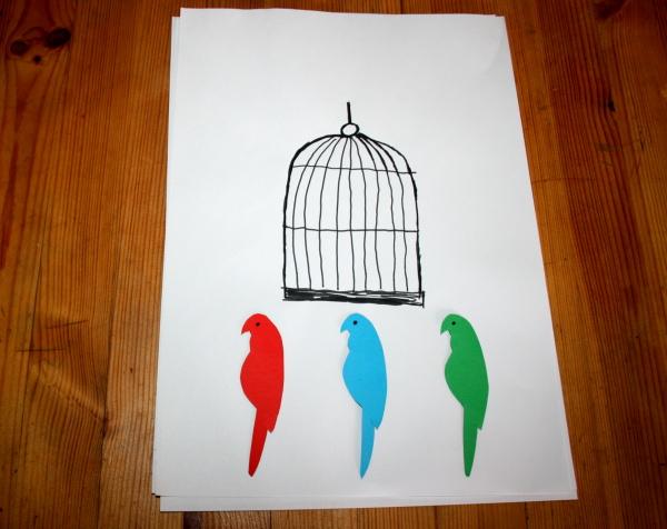Esperimento scientifico: l'uccellino in gabbia