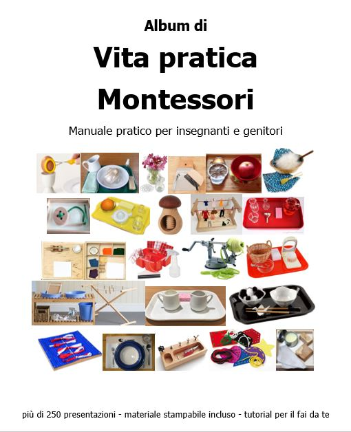 album Montessori di vita pratica